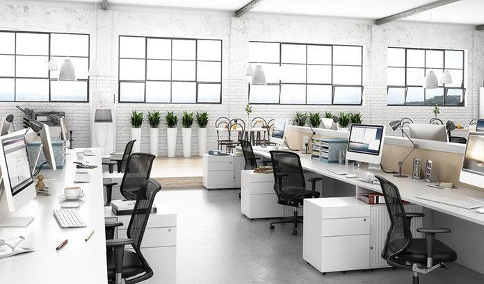 Oświetlenie do biura. Spraw by praca była przyjemniejsza.